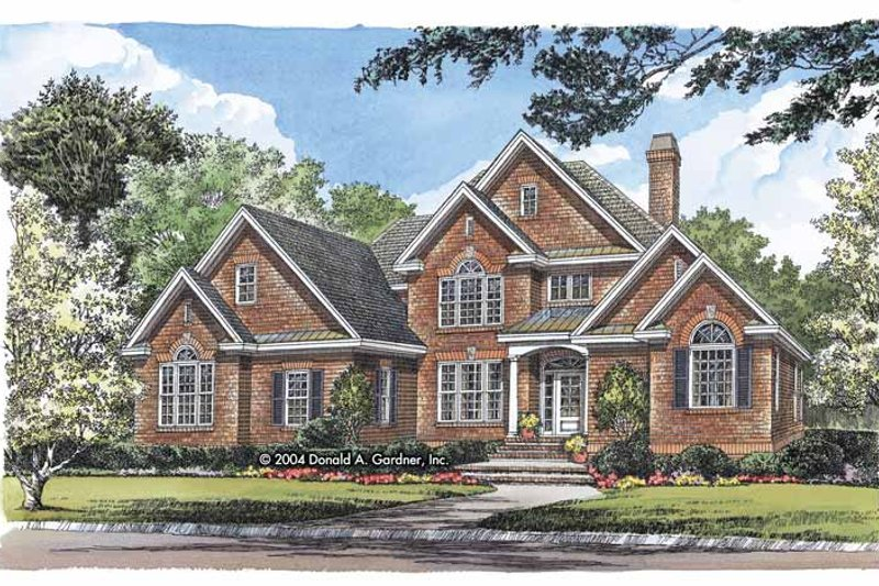 House Plan Design - Traditional Exterior - Front Elevation Plan #929-799