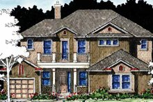 Home Plan - Country Exterior - Front Elevation Plan #1007-62