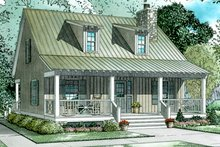 Dream House Plan - Craftsman Exterior - Front Elevation Plan #17-3150