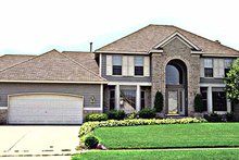 Home Plan - Traditional Exterior - Front Elevation Plan #51-852