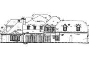 European Style House Plan - 5 Beds 5.5 Baths 5063 Sq/Ft Plan #141-246