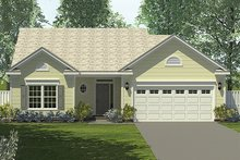 House Plan Design - Traditional Exterior - Front Elevation Plan #453-62
