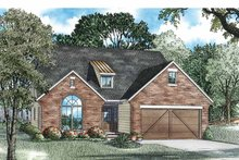 Craftsman Exterior - Front Elevation Plan #17-3362