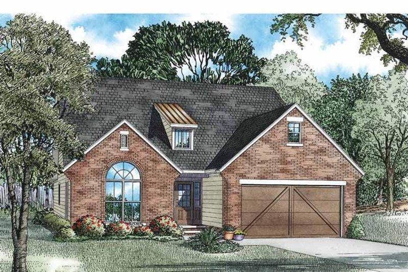Craftsman Exterior - Front Elevation Plan #17-3362 - Houseplans.com