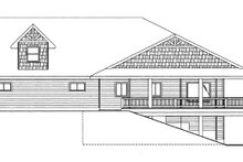 House Plan Design - Craftsman Exterior - Other Elevation Plan #117-859