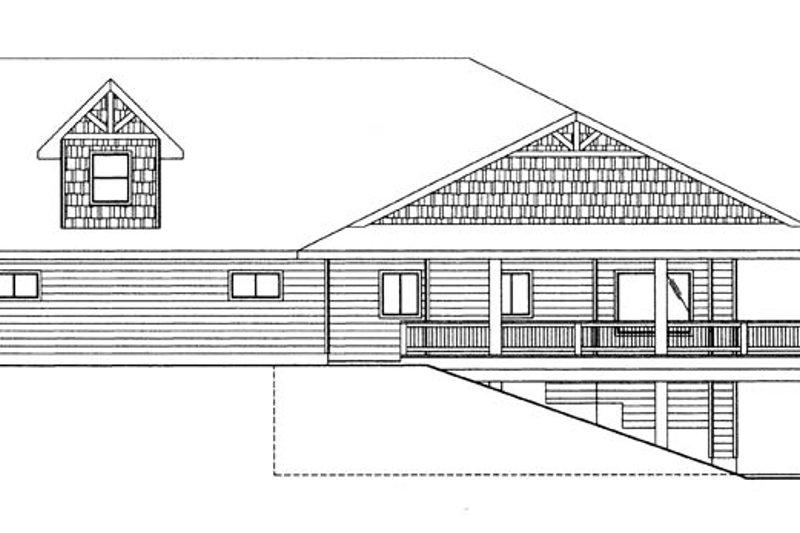 Craftsman Exterior - Other Elevation Plan #117-859 - Houseplans.com