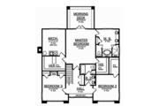 Craftsman Style House Plan - 3 Beds 3 Baths 3315 Sq/Ft Plan #1058-79 Floor Plan - Upper Floor Plan