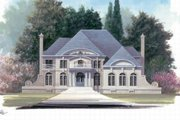 Classical Style House Plan - 4 Beds 3.5 Baths 3169 Sq/Ft Plan #119-139 Exterior - Other Elevation