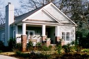 Bungalow Style House Plan - 3 Beds 2 Baths 1788 Sq/Ft Plan #30-198 Exterior - Front Elevation