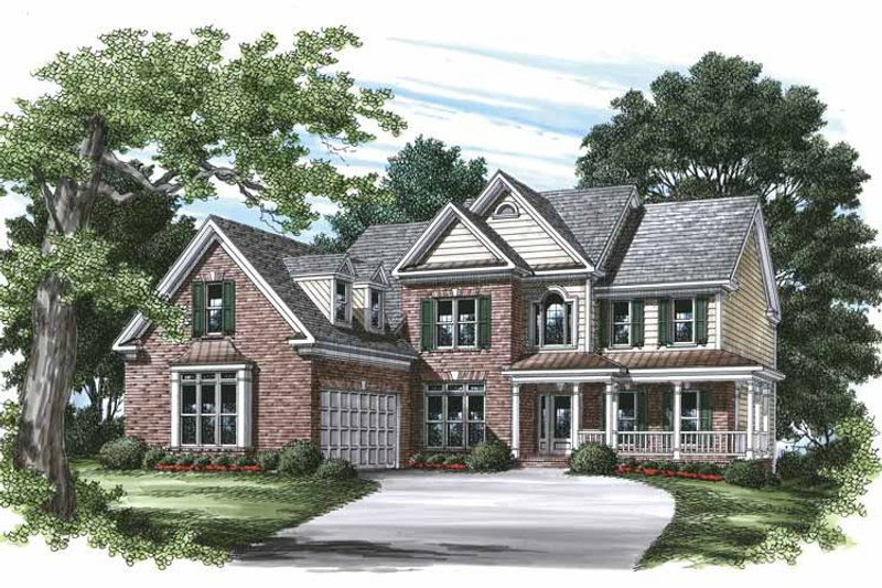 Country Exterior - Front Elevation Plan #927-462 - Houseplans.com