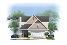 Architectural House Design - Craftsman Exterior - Rear Elevation Plan #929-837