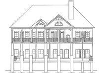 Craftsman Exterior - Rear Elevation Plan #54-275