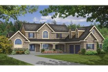 Architectural House Design - Traditional Exterior - Front Elevation Plan #314-275