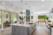 Contemporary Style House Plan - 4 Beds 2.5 Baths 3384 Sq/Ft Plan #1066-121 Interior - Kitchen