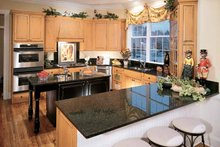 Home Plan Design - Classical Interior - Kitchen Plan #429-85