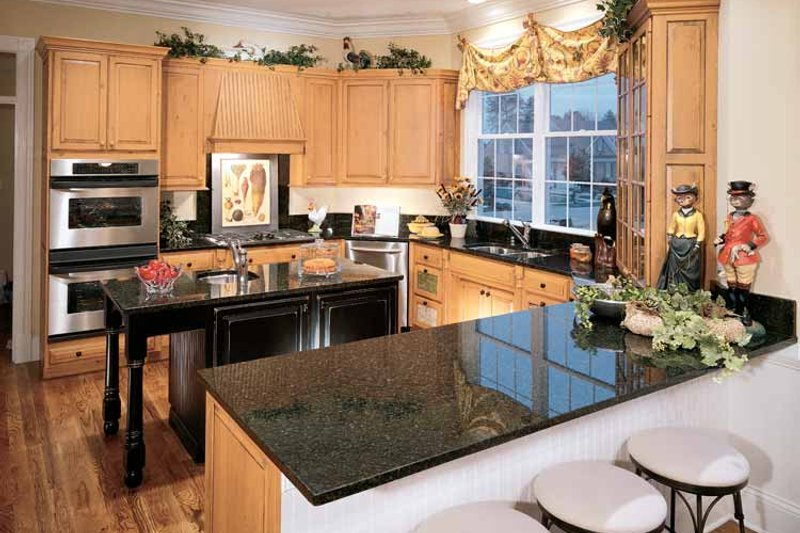 Classical Interior - Kitchen Plan #429-85 - Houseplans.com