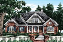 Country Exterior - Front Elevation Plan #927-372