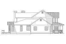 Home Plan - Victorian Exterior - Other Elevation Plan #124-268