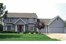 House Plan Design - Colonial Exterior - Front Elevation Plan #51-709