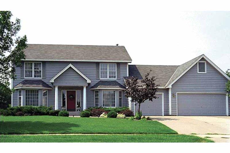 Colonial Exterior - Front Elevation Plan #51-709 - Houseplans.com