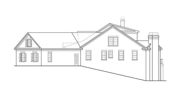 Traditional Floor Plan - Other Floor Plan Plan #927-958