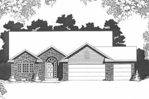 Traditional Exterior - Front Elevation Plan #58-141