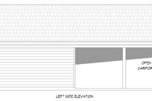 Traditional Exterior - Other Elevation Plan #932-329