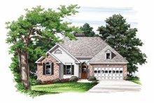 Home Plan - Ranch Exterior - Front Elevation Plan #927-591