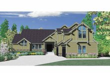 Craftsman Exterior - Front Elevation Plan #509-392