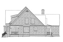House Plan Design - Country Exterior - Other Elevation Plan #429-338