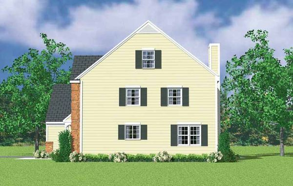 Country Floor Plan - Other Floor Plan Plan #72-1121