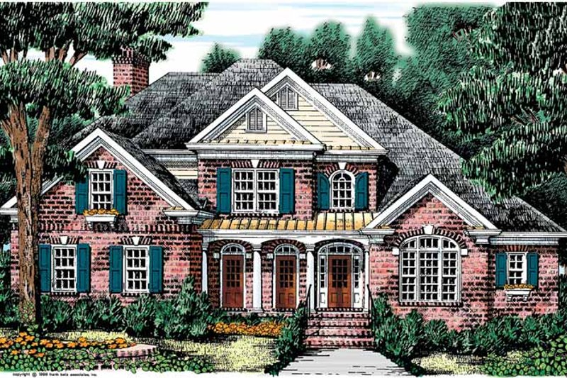 House Design - Traditional Exterior - Front Elevation Plan #927-573