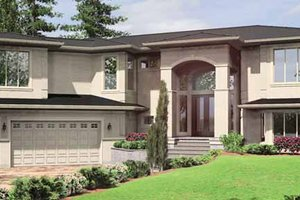 Architectural House Design - Traditional Exterior - Front Elevation Plan #966-20