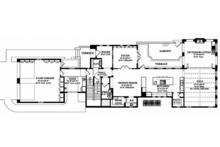 Mediterranean Floor Plan - Main Floor Plan Plan #1058-155