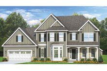 Architectural House Design - Colonial Exterior - Front Elevation Plan #1010-62
