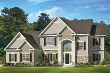 Architectural House Design - Traditional Exterior - Front Elevation Plan #1010-133
