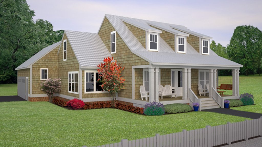 Colonial style house plan 3 beds 2 5 baths 2325 sq ft for 1 5 story cape cod house plans