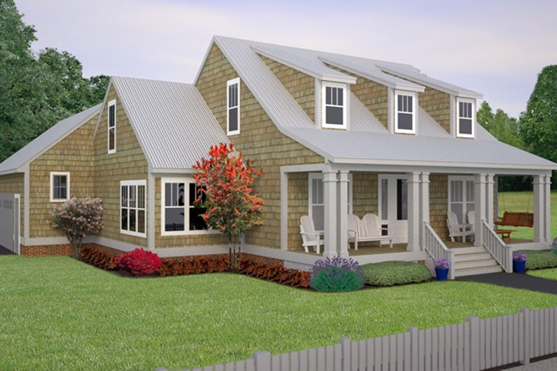 Colonial Exterior - Front Elevation Plan #991-26 - Houseplans.com