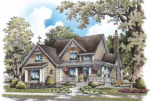 Dream House Plan - Craftsman Exterior - Front Elevation Plan #929-849