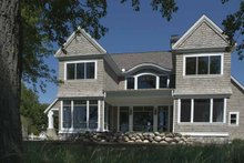 Craftsman Exterior - Rear Elevation Plan #928-171
