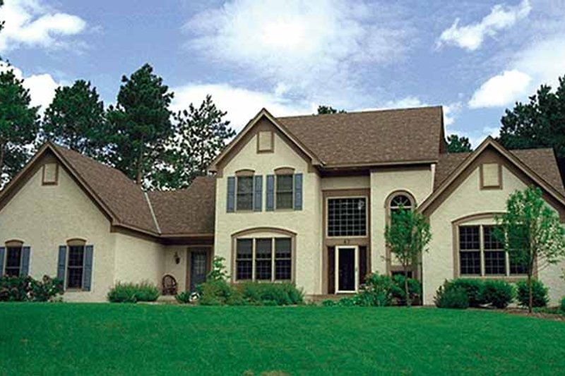 Traditional Exterior - Front Elevation Plan #51-939 - Houseplans.com