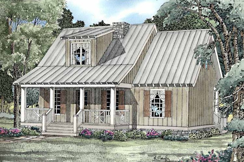 Craftsman Exterior - Front Elevation Plan #17-3220