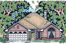 House Plan Design - Traditional Exterior - Front Elevation Plan #42-670