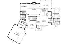 Farmhouse Floor Plan - Main Floor Plan Plan #1071-5