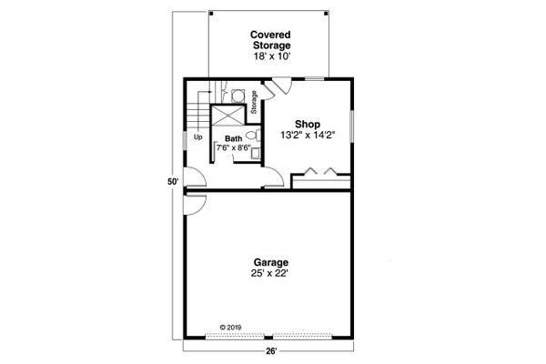 Traditional Floor Plan - Main Floor Plan Plan #124-1196
