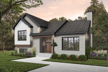 Home Plan - Exterior - Front Elevation Plan #23-138