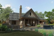 Craftsman Style House Plan - 3 Beds 3 Baths 2397 Sq/Ft Plan #120-193 Exterior - Rear Elevation