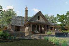 Craftsman Exterior - Rear Elevation Plan #120-193