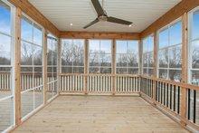 Ranch Exterior - Covered Porch Plan #70-1497