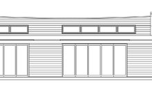 Traditional Exterior - Front Elevation Plan #484-10